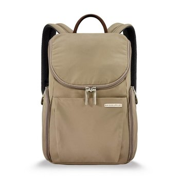 BRIGGS & RILEY SYMPATICO SPECIAL EDITION CARAMEL COLLECTION SMALL U-ZIP BACKPACK
