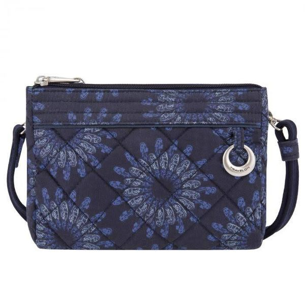 TRAVELON ANTI-THEFT BOHO CLUTCH CROSSBODY (33222)