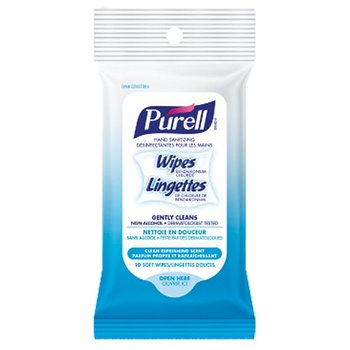 PURELL HAND SANITIZING WIPES 10-PACK (P25997)