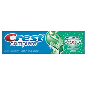 CREST COMPLETE w/ SCOPE TOOTHPASTE 20mL (C03016)