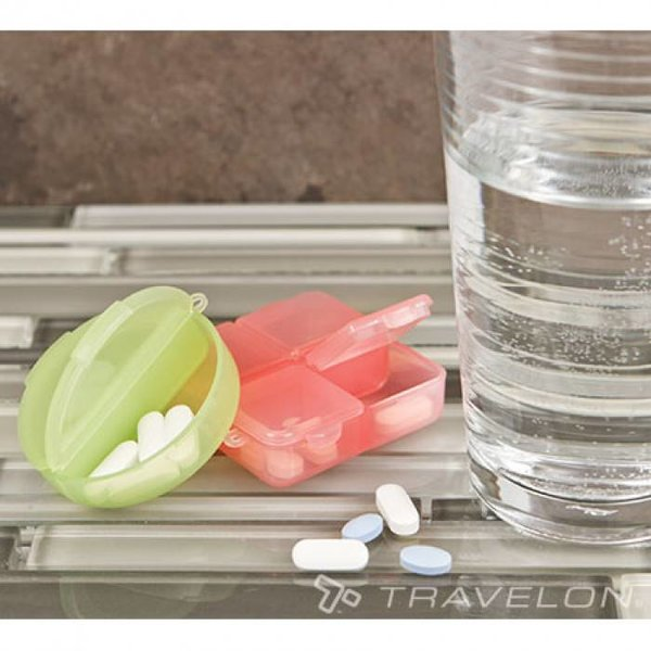 TRAVELON SET OF TWO PILL BOXES (12327)