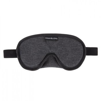 TRAVELON COOL GEL EYE MASK CHARCOAL (13358)