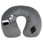 TRAVELON DELUXE INFLATING NECK PILLOW (13091)