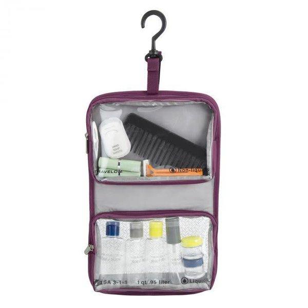 TRAVELON WET-DRY 1 QUART BAG W/ BOTTLES (11024
