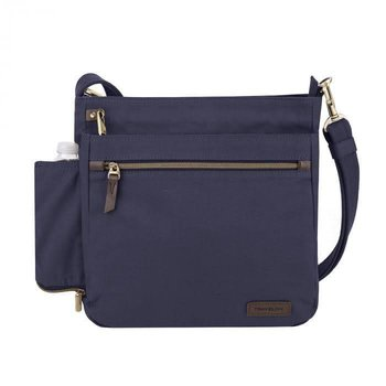 TRAVELON ANTI-THEFT COURIER N/S CROSSBODY (33304)
