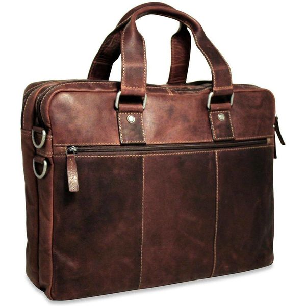 Jack Georges VOYAGER PROFESSIONAL BRIEFCASE, BROWN (7317)