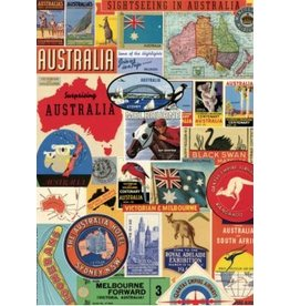 Poster Australia Retro