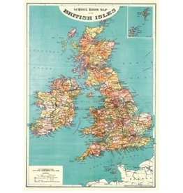 Poster British Isles Map