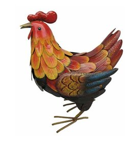 Metal Colourful Hen (Large)
