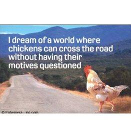Fridge Magnet Chicken