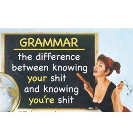 Fridge Magnet Grammar
