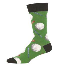 Socks Mens Golf Tee It Up