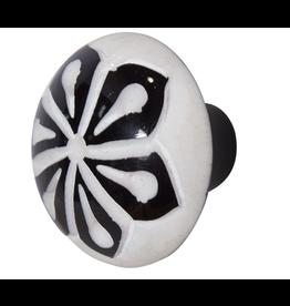 Doorknob - Cream & Mocha Bone