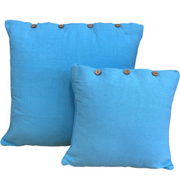 Pale Blue Cushion Cover