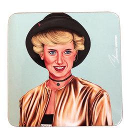 Hipster Diana Coaster