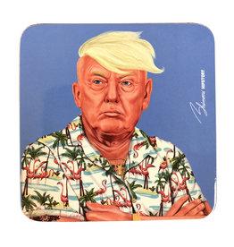 Hipster Donald Coaster