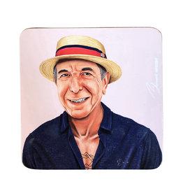 Coaster of Hipster Leonard