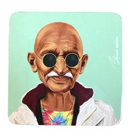 Coaster of Hipster Mahatma