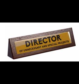 Desk Sign Director