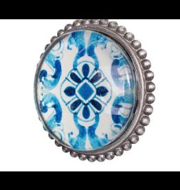 Doorknob Giaros Pewter Glass