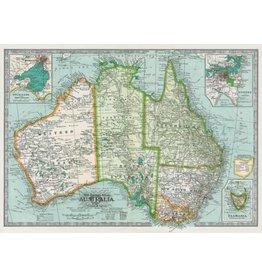 Poster Australia Map