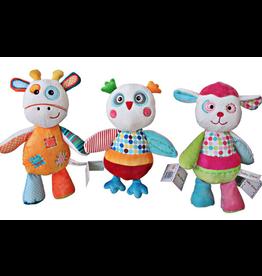 Toy Plush Dog/ Owl/ Giraffe M536