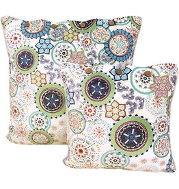 Wildflower Blue Cushion Cover