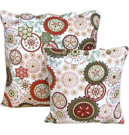 Wildflower Red Cushion Cover