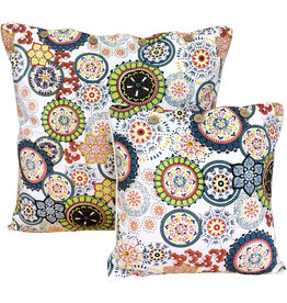 Wildflower Teal Cushion Cover