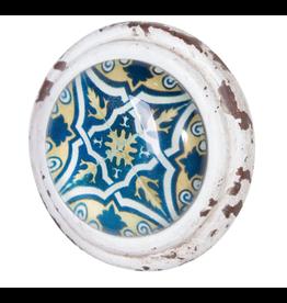 Eos Metal & Glass Doorknob