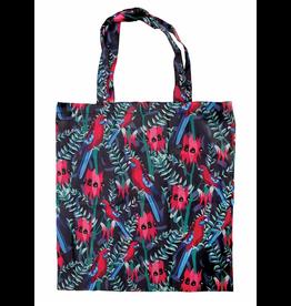 Australian Birds Reusable Bag -  Red Rosella