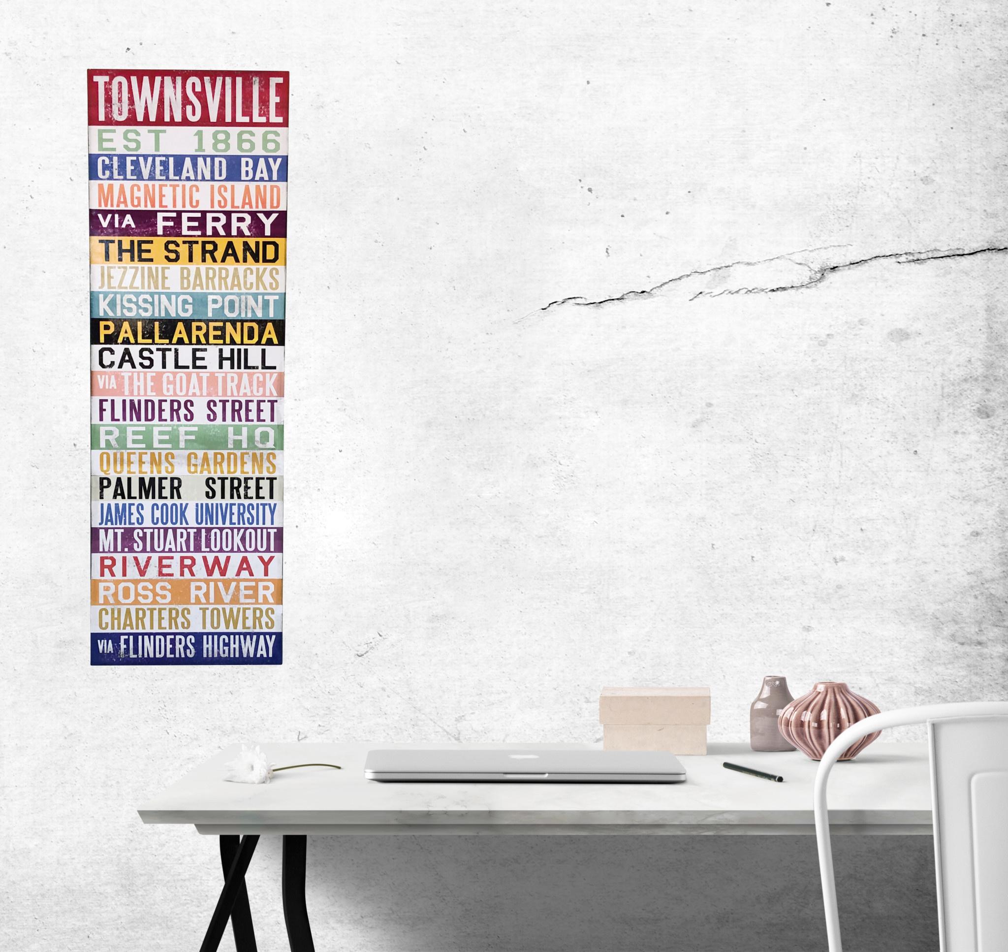 Canvas - Destination Townsville Large