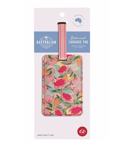 Luggage Tag - Waratah