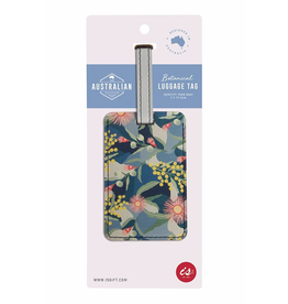 Luggage Tag - Golden Wattle
