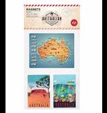 Australian Magnets. Set of 3