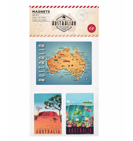 Australian Magnets. Set of 3