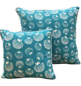 Shell Sea Green Cushion Cover