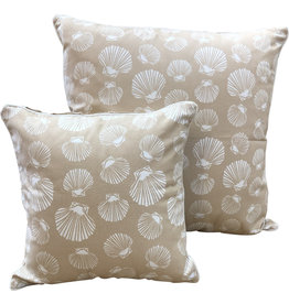 Shell Beige Cushion Cover