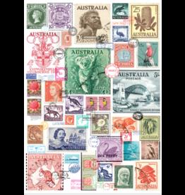 Tea Towel - Vintage Australian Stamp