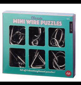 Quiz & Games - Classic Mini Wire Puzzles