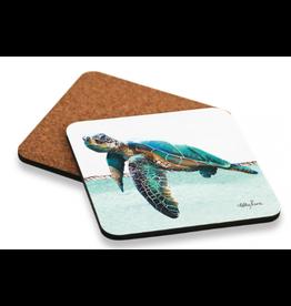 Coaster set of 6 Turtle ELLIOT