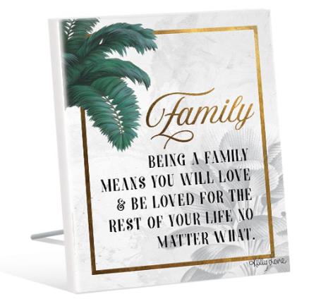 Sentiment Plaque 12x15 St Barts FAMILY