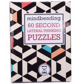 Book on 60 Second Lateral Thinking Puzzles