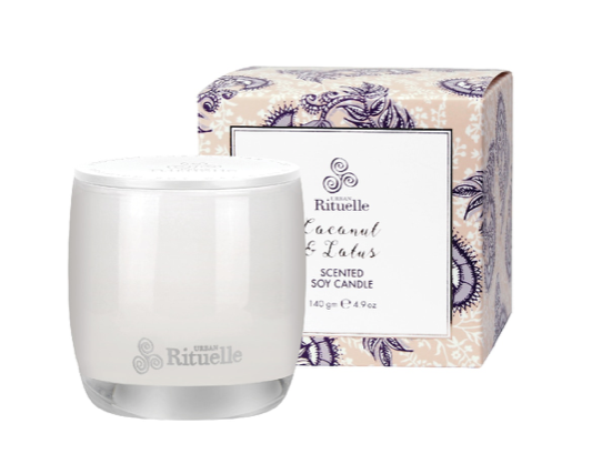 Candle Coconut and Lotus