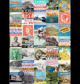 Vintage Townsville Teatowel