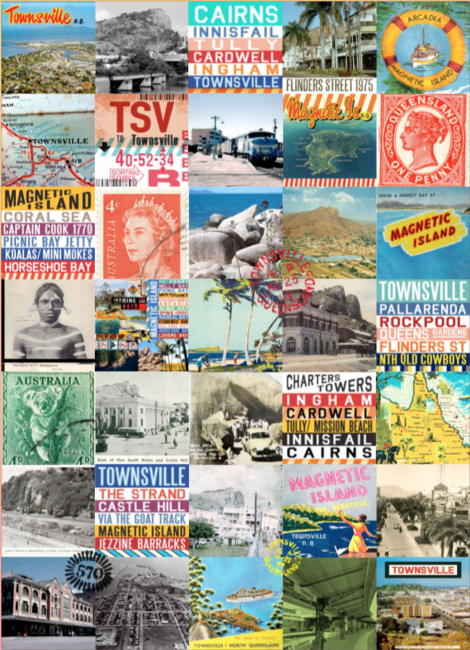 Tea Towel - Vintage Townsville