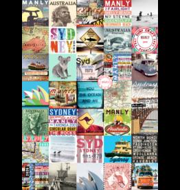 Tea Towel - Vintage Sydney