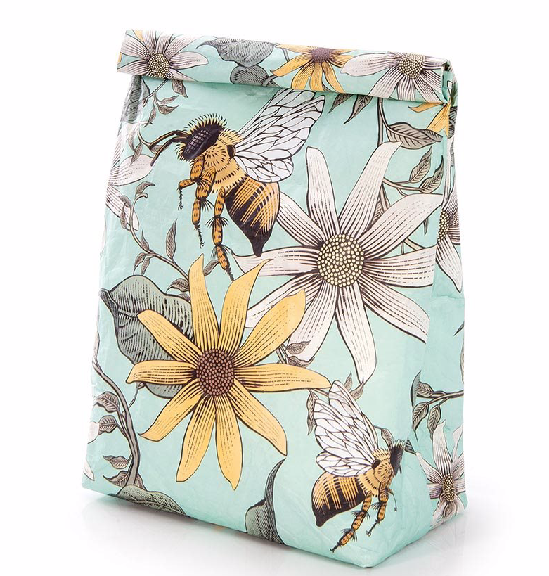 Paper Lunch Bag- Bees