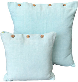 Ice Blue Cushion Cover