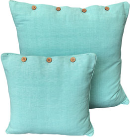 Pale Aqua Cushion Cover